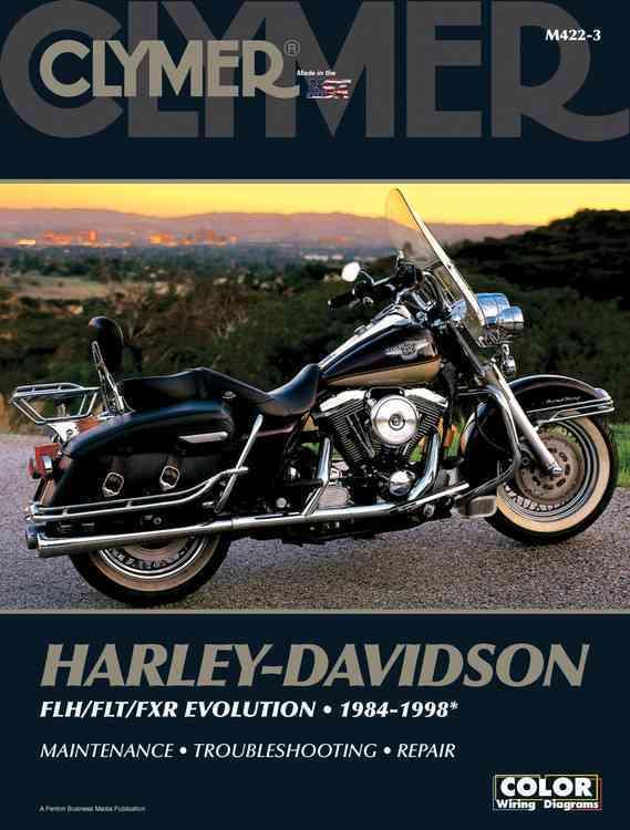 Clymer Harley Davidson Flh/flt/fxr Evolution 1984-1998